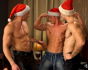 Xmas Wank Party #91, Part 1