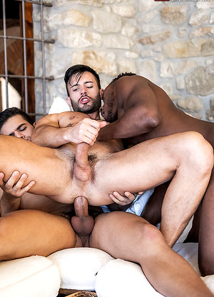 Rico Marlon, Pheonix Fellington, Andy Star - Bareback Threesome