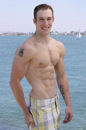 Hot muscle man Rex